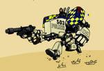 Manchester Polizei RIG PatrolB by Samorai