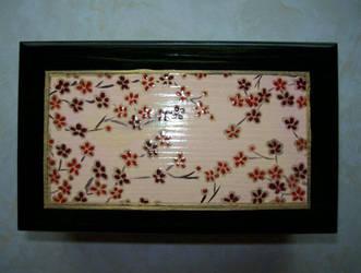 Cherry Blossom Box Lid by kimchan