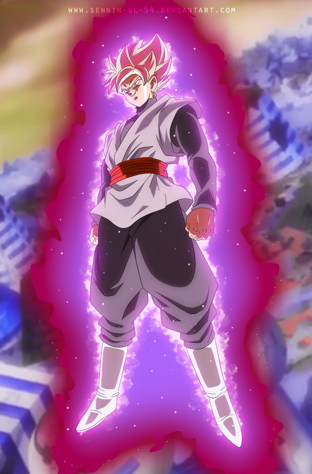 goku black rose - dbsuper by sennin-gl-54 on deviantart