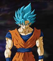 Goku - Universe Survival - Empty space by SenniN-GL-54