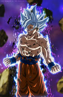 Goku Perfect Ultra Instinct - Silver Goku EP.129 by SenniN-GL-54