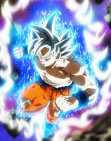 Goku perfect ultra instinct - ep129 by SenniN-GL-54