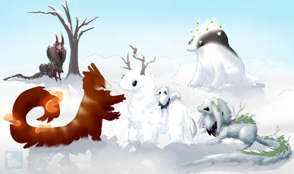 build a snow esk by mamasaurus
