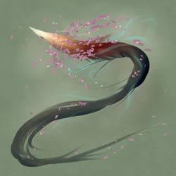a petal spin by mamasaurus