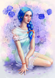 Roses by Wolka-Art