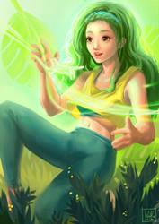 First Magic by Wolka-Art
