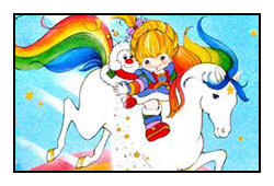 Rainbow Brite Stamp by katamariluv