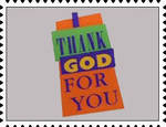 I Thank God For You stamp by katamariluv