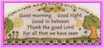 Good Morning, Good Night stamp by katamariluv