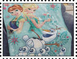 Frozen Winter Wonderland stamp by katamariluv