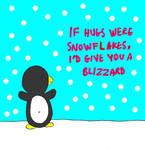 If Hugs Were Snowflakes by katamariluv