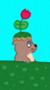 Pixel Garden Gopher icon by katamariluv
