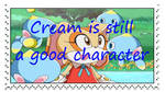 Cream is Still a Good Character stamp by katamariluv