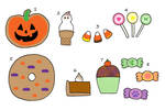 Halloween Goodie Aesthetic OTA(7/8 open) by katamariluv