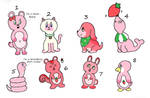 100 Flavor OTA Strawberry(1/8 open) by katamariluv