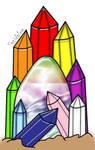Rainbow Jewel Egg OTA(Closed) by katamariluv
