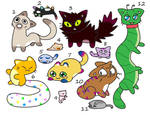 Kooky Cat OTA(10/12 open) by katamariluv