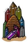 Rainbow Jewel Dragon Egg OTA(Closed) by katamariluv