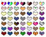 Mystery Heart Aesthetic OTA(46/49 open) by katamariluv