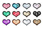 Carved Gemstone Heart OTA(11/12 open) by katamariluv