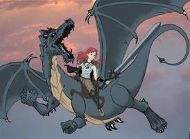 Monta mi Dragoncito by Freelance337