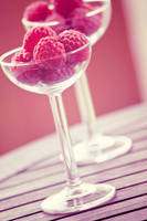 Day 17 - Glass of raspberries by nomatterwhy