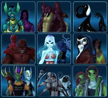 Alien Races by DreamingRed