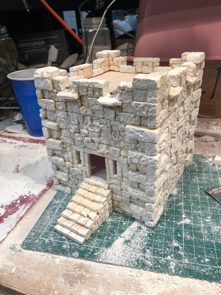 Caribbean Fort for Blood and Plunder the game. by TheBugKing