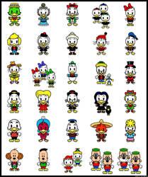 Duckburg Cuties by Ciro1984