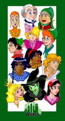 Wicked Cartoon Designs by Ciro1984