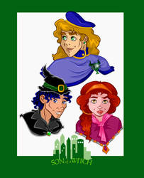 Son of a Witch Cartoon Designs by Ciro1984