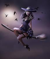 Witch by NataliaSoleil