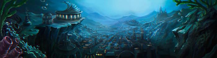 Underwater city by NataliaSoleil
