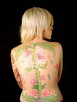 Body Painting On Sierra by neoliravioli