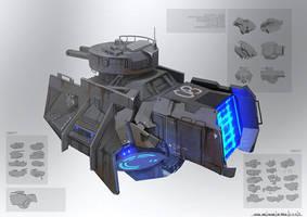 GUN SHIP by Seeker800