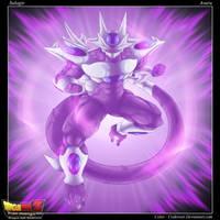 Dragon ball Multiverse : Majin Cold by Crakower