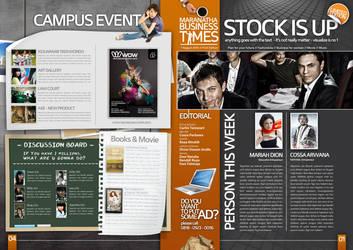 magazine design sketch by raitei96