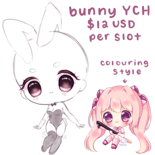 (YCH temp closed) $12 USD  Bunny Costume by shibudesu