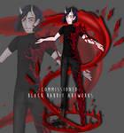 Character Design [commissioned] by blackrabbitartworks