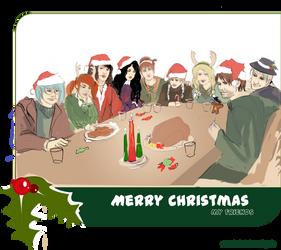 Secret Santa: Merry Christmas by Fayerin