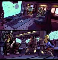 Spaceship Bridge by SC4V3NG3R