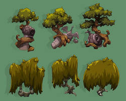 Swamp Trees by SC4V3NG3R