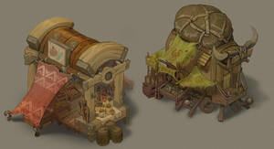 Market Stalls by SC4V3NG3R