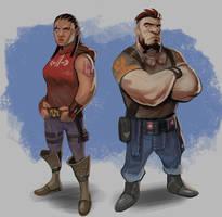 Plexraider:  Dwarves by SC4V3NG3R