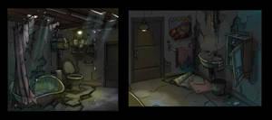 Nasty Bathroom by SC4V3NG3R