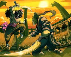 Arena duel by SC4V3NG3R