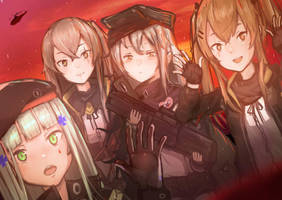 girl's frontline by Hogo0008