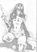 Huntress by Deilson