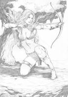 Red sonja by Deilson