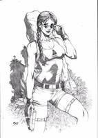 Lara Croft by Deilson